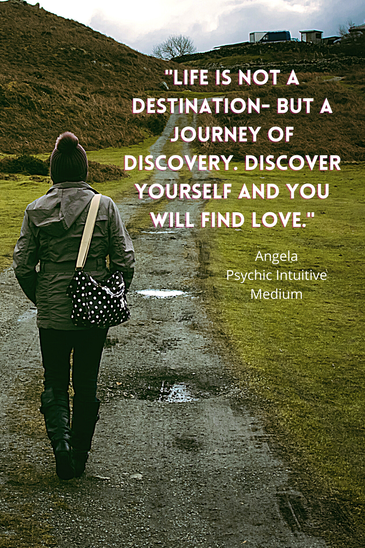 Find love through discovery of yourself!